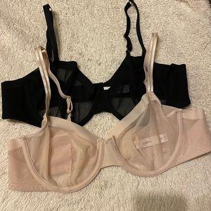 Auden sheer bras - from Target
